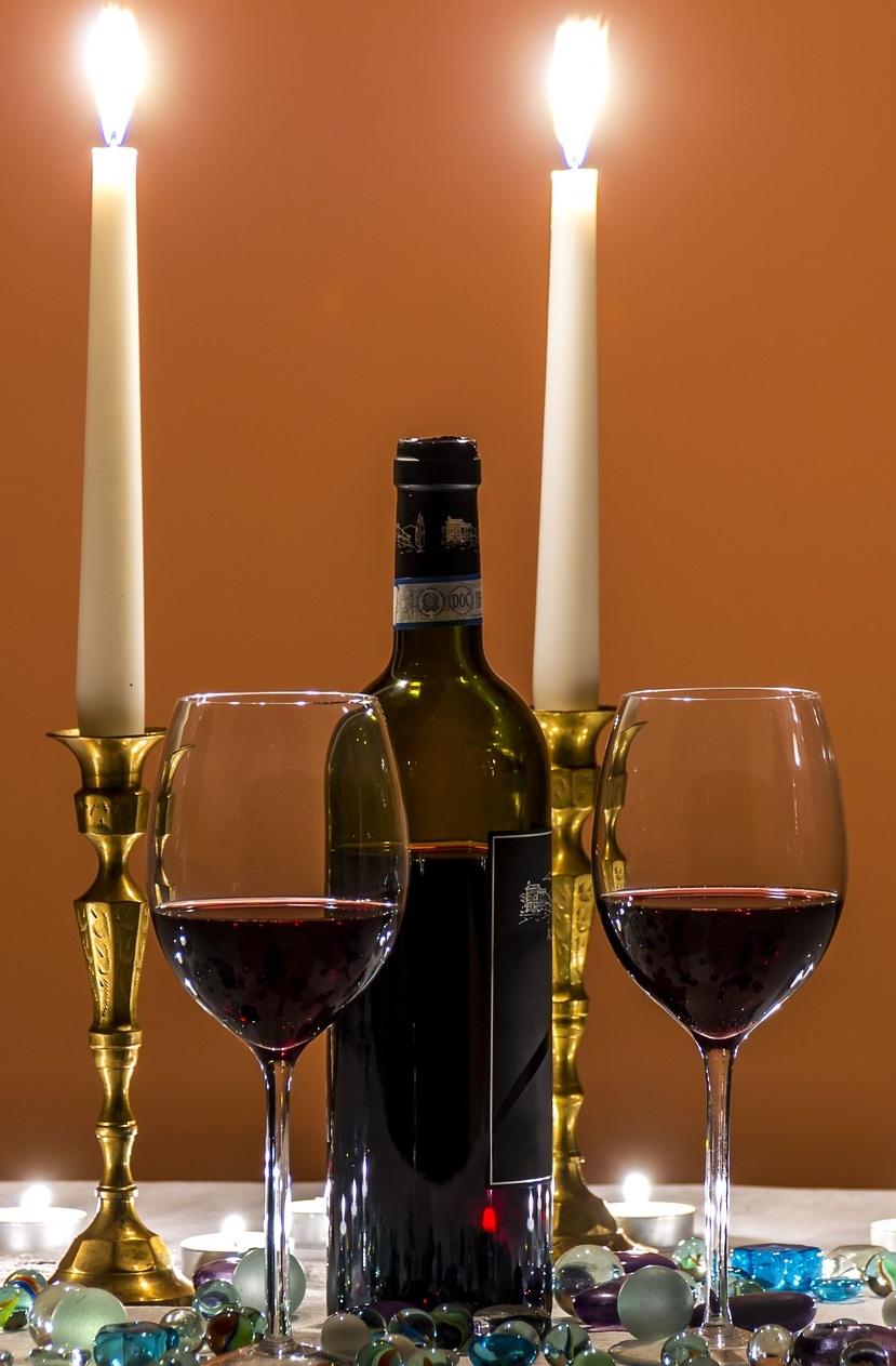 Selezione di Vini rosso Locanda degli angeli